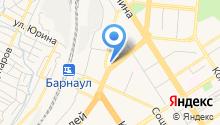 Алтайский бильярдный клуб на карте