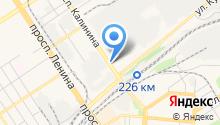 УАЗ-АГАС на карте