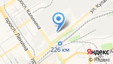 Автокурьер на карте