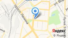 Автогайка на карте