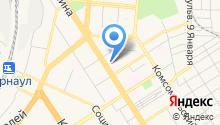 ГУ МВД России по Алтайскому краю на карте