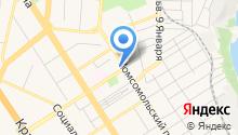 Адвокатские кабинеты Долгова О.П. и Долговой М.И. на карте