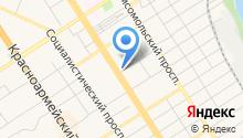 Совет муниципальных образований Алтайского края на карте
