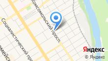 Экском на карте
