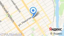 Стик-Тревел на карте