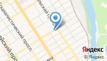 KOZA на карте