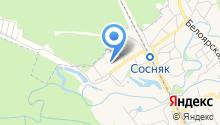 Пожарная часть №27 г. Новоалтайска на карте