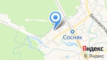 Детский сад №9 на карте