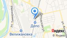 Восток на карте