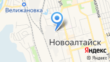 Алтайская дистанция пути на карте