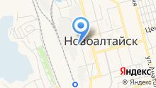 Газпром газораспределение Барнаул на карте