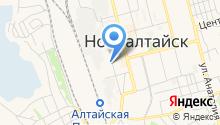Техническая библиотека ст. Алтайская на карте