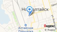 Алтайский региональный центр связи на карте