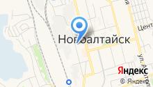 Территориальный фонд обязательного медицинского страхования г. Новоалтайска и Первомайского района на карте