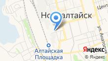 Алтайское агентство фирменного транспортного обслуживания на карте