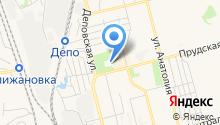Свято-Георгиевская церковь на карте