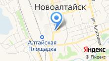 Отдел №61 Управления Федерального казначейства по Алтайскому краю на карте