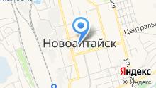 Новоалтайская городская общественная организация ветеранов, пенсионеров, войны, труда, Вооруженных Сил и правоохранительных органов на карте