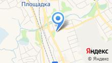 Новоалтайский межрайонный отдел судебных приставов на карте