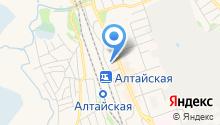 Привокзальный на карте