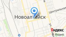 Участковый пункт полиции ОВД по г. Новоалтайску на карте