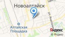 Алтайские зори на карте