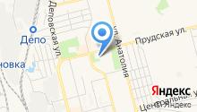 Узловая поликлиника ст. Алтайская на карте