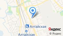 На Барнаульской на карте