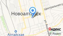 Управление пенсионного фонда в г. Новоалтайске и Первомайском районе на карте