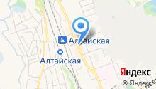 Признание на карте