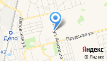 Управление по делам ГО и ЧС г. Новоалтайска на карте
