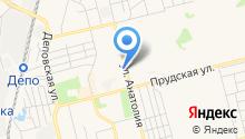 Федерация Киокушин Каратэ на карте