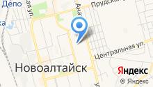 Новоалтайское, ТСЖ на карте