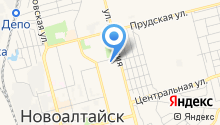 Мировые судьи г. Новоалтайска на карте