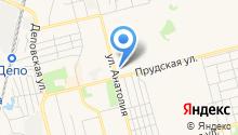 Алтайэнергожилстрой на карте