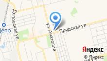 Университетская на карте