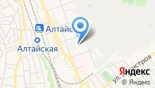 Комплексный центр социального обслуживания населения города Новоалтайска на карте
