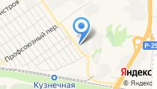 Сибирь-МГ на карте