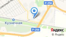 Новоалтайский завод мостовых конструкций на карте