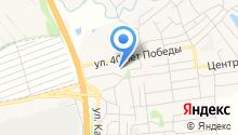 Берёзовская средняя общеобразовательная школа на карте