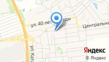 Первомайская центральная районная больница им. А.Ф. Воробьева на карте