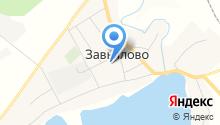 Завьяловская средняя школа на карте