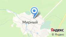 Мирновский лесхоз на карте