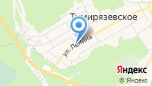 Тимирязевское лесничество на карте