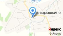 Новотырышкинская врачебная амбулатория на карте
