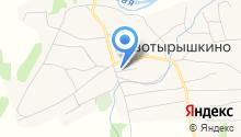 Новотырышкинская участковая больница на карте
