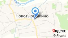 Сибирский купец на карте