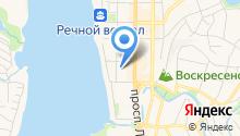 EmBody на карте