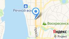 Томский визовый центр на карте
