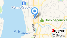 Департамент транспорта, дорожной деятельности и связи Томской области на карте
